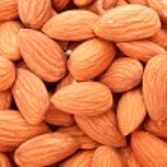 Almonds background — Stock Photo #6799438