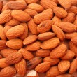 Almonds background — Stock Photo #6799449