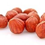 Hazelnuts Isolated on White Background — Stock Photo #6799460