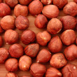 Hazelnuts background — Stock Photo