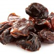 Dates on a white background — Stock Photo