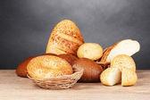 Centeno y pan y bollos — Foto de Stock
