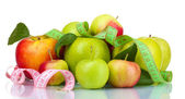 Many fresh ripe apples — Stock Photo