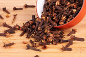 Spice cloves in a bowl — Stock Photo