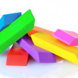 Bright erasers — Stock Photo #6800076