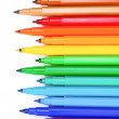 Bright markers — Stock Photo #6800267
