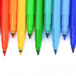 Bright markers — Stock Photo #6800272