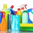 Detergent bottles — Stock Photo #6801857
