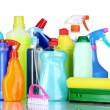 Detergent bottles — Stock Photo #6801859