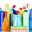 Detergent bottles — Stock Photo #6801861