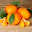 Ripe orange tangerines - Stok fotoraf