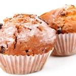 Cupcakes on white background — Stock Photo #6806528