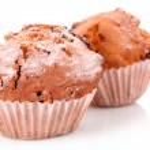Cupcakes on white background — Stock Photo #6806531