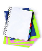 Few notebooks — Stock Photo