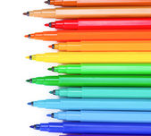 Bright markers — Stock Photo