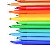 Jasne markerów — Zdjęcie stockowe