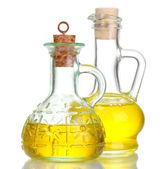 Aceite de oliva en tarro — Foto de Stock