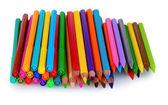 Crayones y marcadores brillantes — Foto de Stock