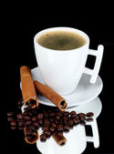 Cup of coffee, — Stock Photo