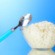 Tasty cottage cheese — Stock Photo