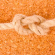 Stock Photo: Rope with knot