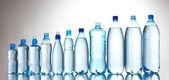 Group plastic bottles — Stock Photo