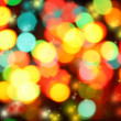 Colorful christmas lights background — Stock Photo #7286605