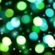 Colorful christmas lights background — Stock Photo
