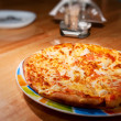 Tasty Italian pizza — Stockfoto
