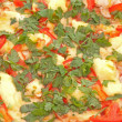 Close-up view of mozzarellpizza — Stock Photo #7287056