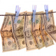 Royalty-Free Stock Photo: Money laundering