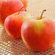 Lots of color ripe apple — Stock Photo