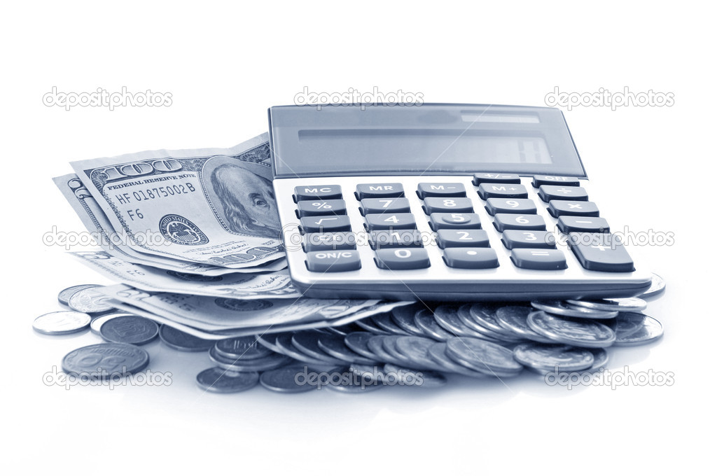 Calculation of financial growth and investment — Stock Photo #7289132