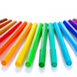 Bright markers — Stock Photo #7295112
