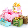 bellissimi regali luminosi — Foto Stock