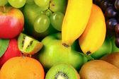 Ripe juicy fruits — Stock Photo