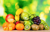 Ripe juicy fruits — Stock Photo