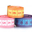 Stock Photo: Bright measuring tape