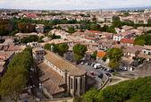 Vista di carcassonne, francia — Foto Stock