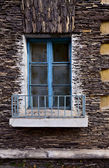 Window on the old building — Stock Photo
