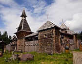 Wooden fortress — Stock Photo