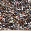 Stock Photo: Scrap Metal ready for recycling