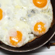 Stock Photo: Scramble eggs
