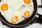 Scramble eggs — Stock Photo