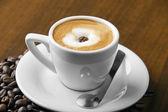Caffè macchiato espresso — Stock Photo