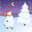 Royalty-Free Stock Vektorfiler: Snowman