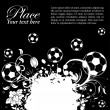 Royalty-Free Stock Vector Image: Soccer Ball theme