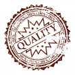 Stock Vector: Stamp Quality