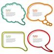 Speech Bubbles — Stock Vector #6754772