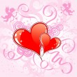 Royalty-Free Stock 矢量图片: Valentines Day background